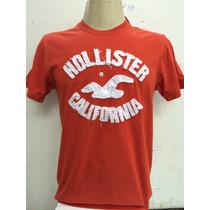 Camiseta Masculino Da Hollister Pronta Entrega Frete Gratis
