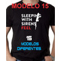Camiseta Sleeping With Sirens - Diversas Estampas