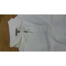 Camisa Camiseta Pólo Burberry Branca Gbm Outlet