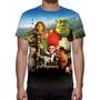 Camisa, Camiseta Disney Shrek - Estampa Total
