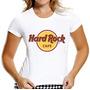 T-shirt Baby Look Feminina Hard Rock Café