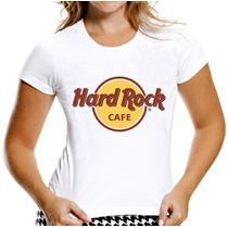 T-shirt Baby Look Feminina Hard Rock Café