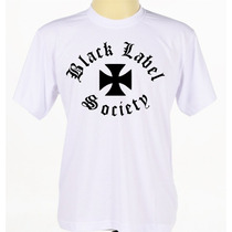 Camisa Camiseta Estampada Banda Rock Black Label Society