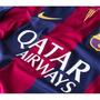 Camisa Oficial Do Barcelona 2015 - Frete Grátis Todo Brasil