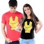 Camiseta Homem De Ferro Games Iron Man Diversos Camisa Games
