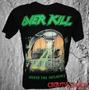 Camisetas Camisas De Banda Rock Heavy Metal Overkill