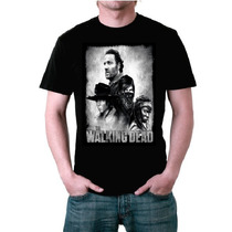 Camiseta The Walking Dead (personagens)