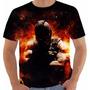 Camiseta Batman - Bane - Cavaleiro Das Trevas - Quadrinhos