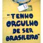 Camiseta Oficial Do Brasil + Bandana (marca Malvee)