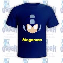 Camisetas Personalizadas Megaman - Promoção