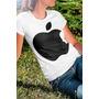 Camiseta Menina Maça Apple Steve Jobs