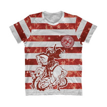 Camisa Listrada São Jorge Salgueiro - Camiseta Carnaval