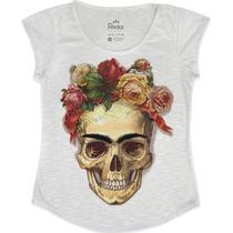 T-shirt Feminina Frida Kahlo - Fr Fashion
