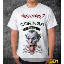 Camiseta Coringa Camisa Games Herois Series Frete Grátis