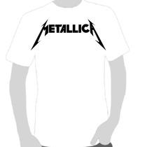 Camisetas Camisas Qualidade- Rock -metallica- Marcas Famosas