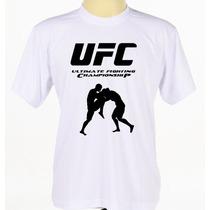 Camisa Ufc Camiseta Mma Estampada Masculino Manga Curta