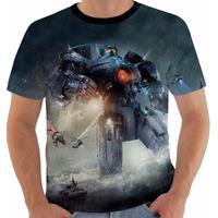Camiseta Pacific Rim - Circulo De Fogo - Movies