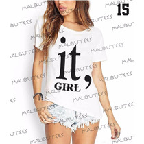 T-shirt Camiseta Blusa Fashion Itgirl Girl Moda Feminina