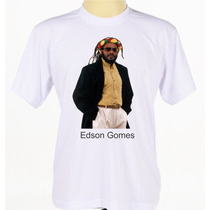 Camiseta Camisa Personalizada Reggae Cantor Edson Gomes