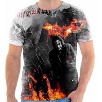 Camiseta Do Coringa Batmam Personalizada 1