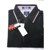 Camisa Polo Masculina M/c De Grife Tommy Hilfiger Tamanho G