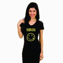 Blusa Ramones Baby Look Feminina Camiseta Mulher Banda Rock