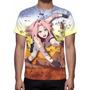 Camisa, Camiseta Anime Naruto Sakura Haruno - Estampa Total