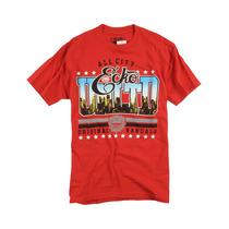 Ecko Unltd. Masculino Tudo Cidade Gráfico T-camisa