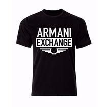 Camiseta Armani Exchange Masculina Camisa - Frete Grátis !!!