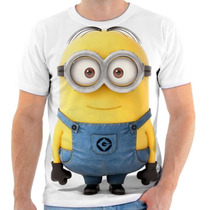 Camiseta Camisa Minions , Adulto E Infantil