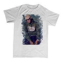 Camiseta Camisa Chris Brown Breezy Swag Hip Hop Pop