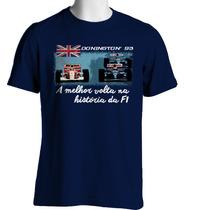 Camiseta Fórmula Retrô - Donington 1993 - Ayrton Senna
