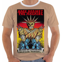 Camiseta Rage Against The Machine - Concert Poster- New York