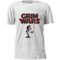 Camiseta Billy & Mandy Grim Wars Star Wars