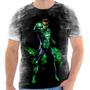 Camisa, Camiseta Camiseta Lanterna Verde - Comic, Heroi