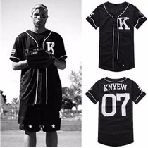 Camisa 2015 Last Kings Baseball Tyga Hip Hop Cease K
