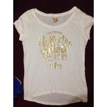 Camiseta Feminina Hollister - Tamanho P