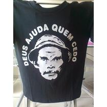 Camisetas Engraçadas Frase Deus Ajuda Quem Cedo Madruga