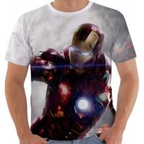 Camiseta Iron Man - Homem De Ferro - Heroes - Tony Stark