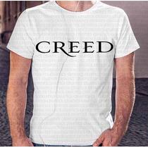 Presente Natal Camiseta Masculina Banda Creed