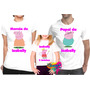 Camiseta - Camisa Personalizada Peppa E George Pig A3 / 3pçs