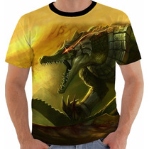 Camisa Camiseta Regata League Of Legends Renekton Lol