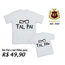 Tal Pai Tal Filho Camiseta Harry Potter Kit Com 2