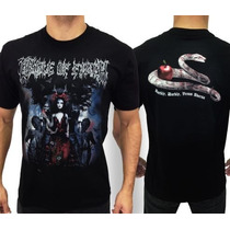 Camiseta De Banda - Cradle Of Filth - Consulado Do Rock