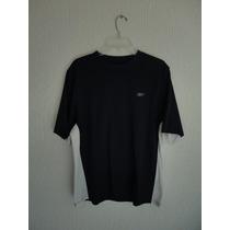 Camiseta Masculina Esporte Academia Reebok Azul Tamanho G