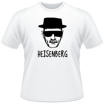 Camiseta Heisenberg Breaking Bad Walter White Camisa