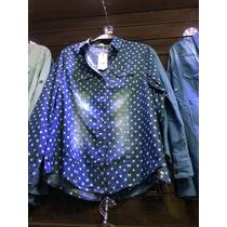 Sivi Blusa Feminino De Jeans Estampas Coração