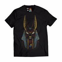 Camisa Blusa Swag Anubis Esfinge Egito Estilo Last Kings Hba