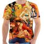 Camiseta Camisa Masculina Otaku Anime Serie - One Piece 05