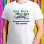 Kit 7 Camisetas Festas Aniversários Trabalhos Faculdades